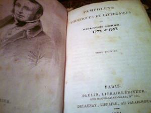 Paul-Louis Courier: Pamphlets politiques et littéraires